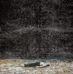 anselm-kiefer-sternenfall-falling-stars-1995